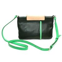 Marc By Marc JacobsBlack Genuine Leather Small Swing/ Cross Body Bag