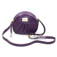 Marc By Marc JacobsPansy Purple Genuine Leather Crossbody/ Swing Bag