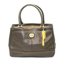 CoachPark Leather Carryall/ Shoulder Bag Mahogany