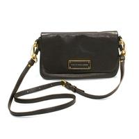 Marc By Marc JacobsCarob Brown Genuine Leather Crossbody/ Swing Bag