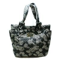 Marc By Marc JacobsBlack Multi Print Nylon Tote