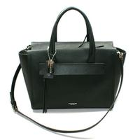 CoachBleeker Saffiano Leather Riley Carryall Handbag/ Crossbody Bag Black