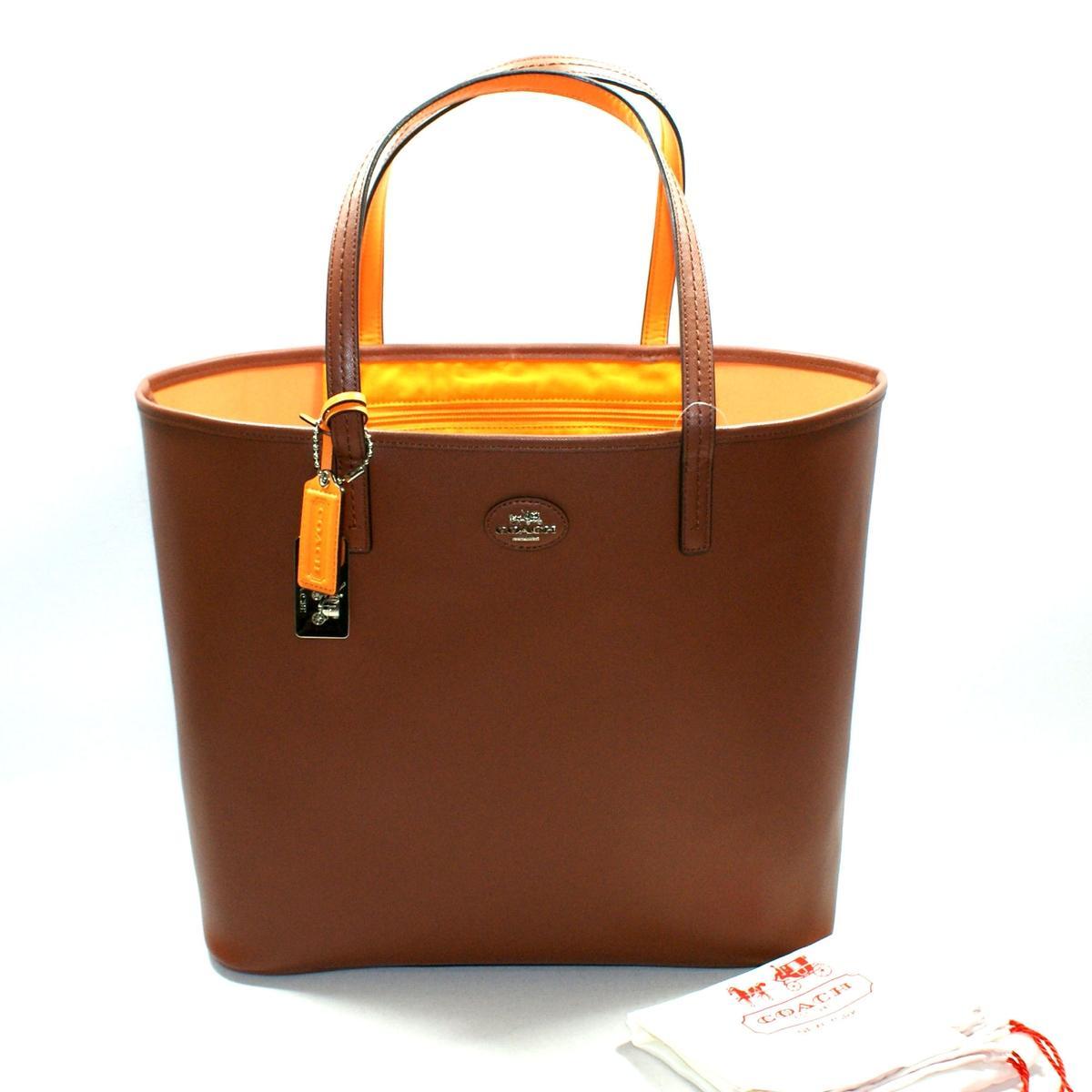 Coach Saddle Leather Large Tote Bag 32701 Coach 32701
