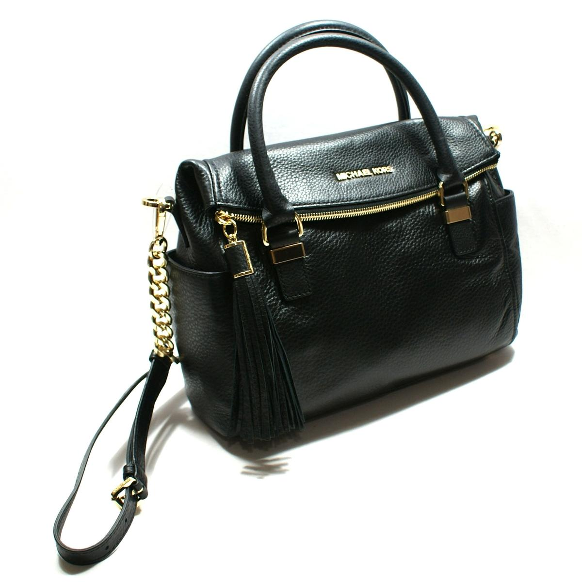 Home Michael Kors Weston Genuine Leather Medium Satchel Crossbody Black Click Thumbnail To Zoom Found