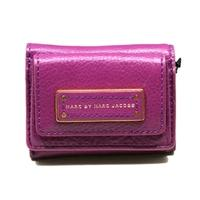 Marc By Marc JacobsBrighter Purple Genuine Leather Mini Wallet