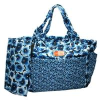 Marc By Marc JacobsSkipple Blue Multi Large Tote/ Diaper Bag