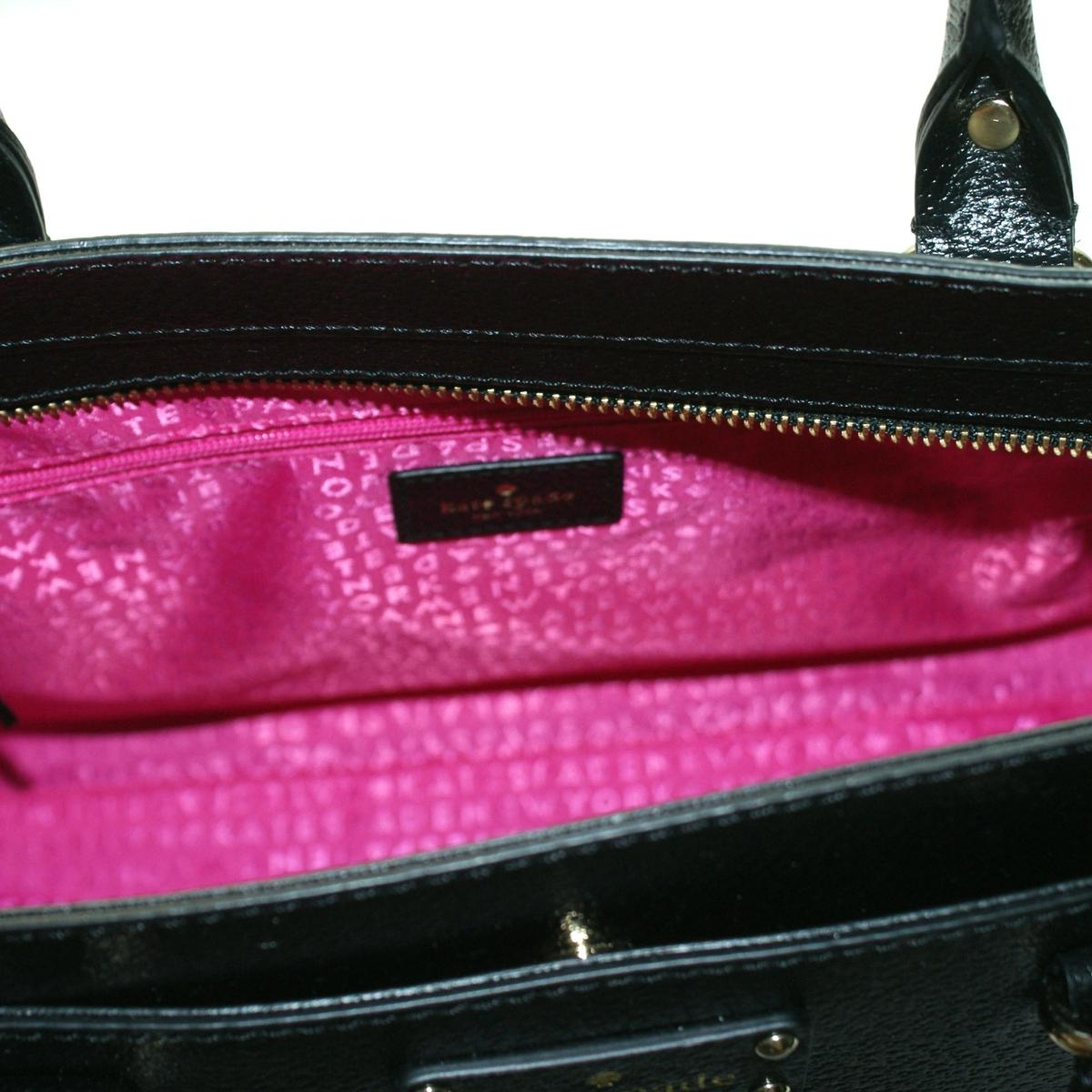80e9998ec4cecf Home · Kate Spade · Durham Wellesley Leather Black Satchel/ Crossbody Bag.  CLICK THUMBNAIL TO ZOOM. Found ...