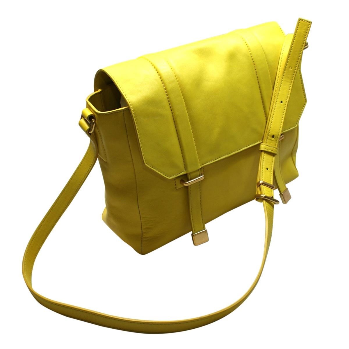 marc by marc lightning bolt yellow leather