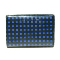 Marc By Marc JacobsPure Blue Multi Leather Flap Small Wallet