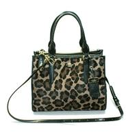 CoachPrinted Haircalf Crossbody/ Carryall Handbag