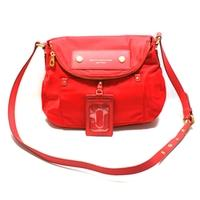 Marc By Marc JacobsCambridge Red Nylon Swing/ Cross Body Bag