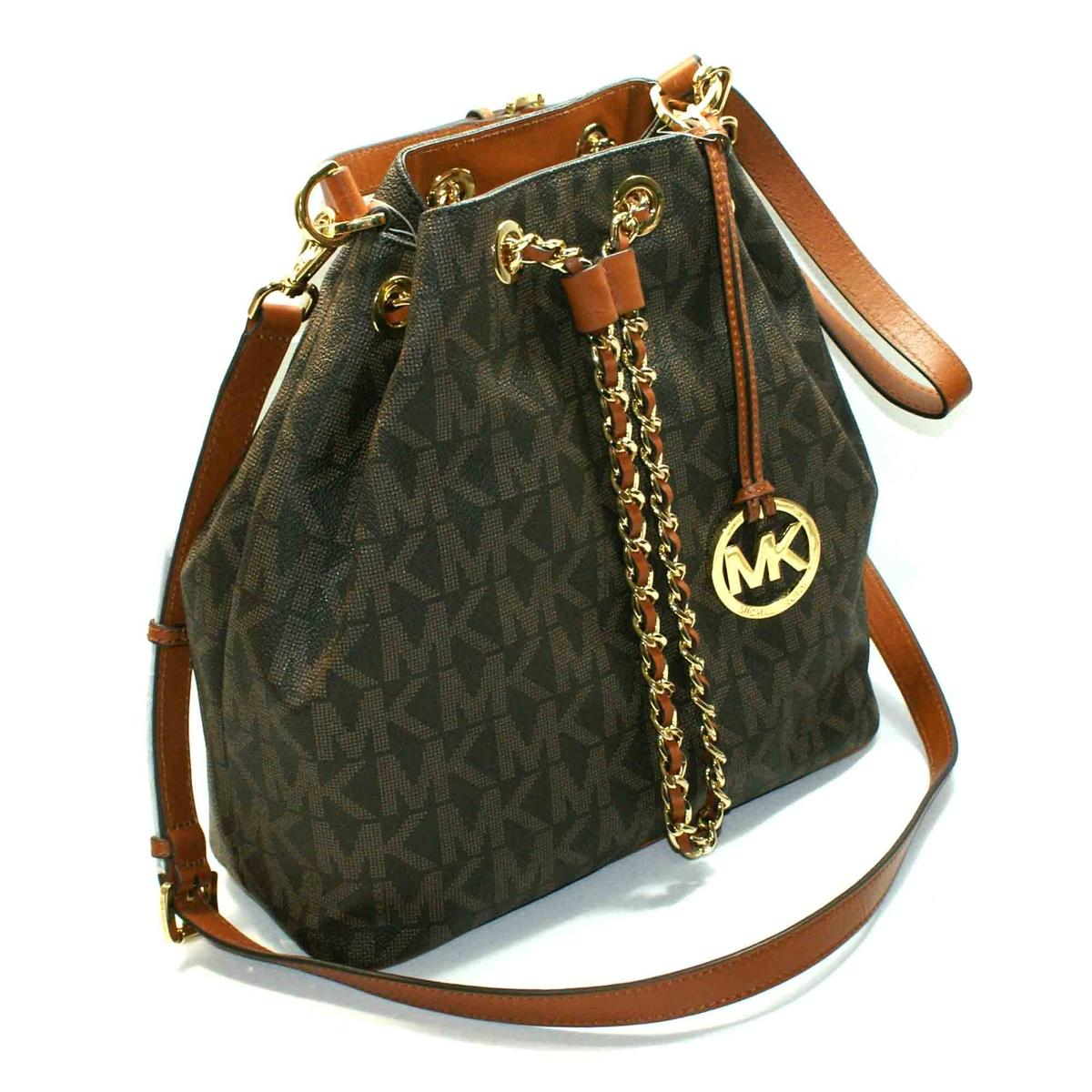 Michael Kors Frankie Large Drawstring Convertible Shoulder