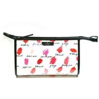 Kate SpadeMedium Heddy Lilac Court Cosmetic Bag Lipsticks