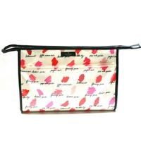 Kate SpadeLarge Heddy Lilac Court Cosmetic Bag Lipstick