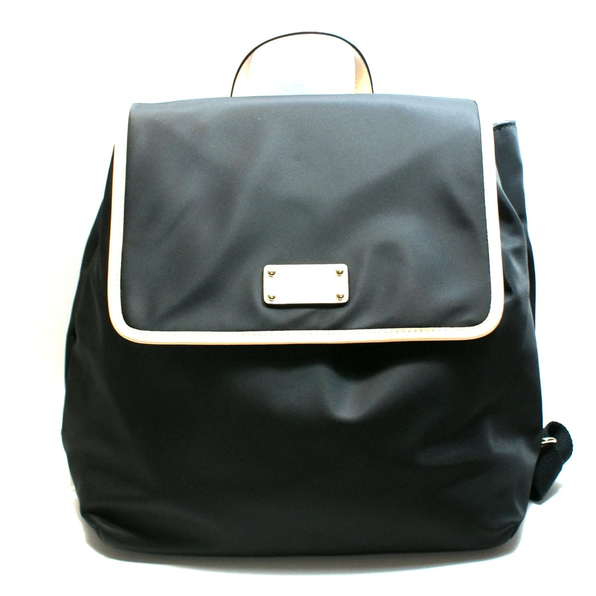 Kate Spade Neko Kennedy Park Nylon Black Backpack Bag