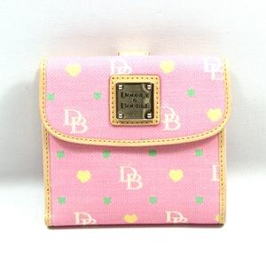 Dooney Amp Bourke Signature Heart Pink Wallet Uh245e8