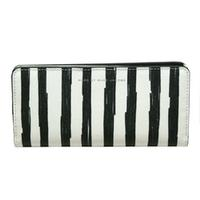 Marc By Marc JacobsSaffiano White Multi Leather Slim Flap Wallet