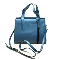 Kate SpadeDominique Grey Street Harbour Blue Satchel/ Crossbody Bag