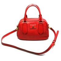 Marc By Marc JacobsRosey Red Leather Satchel/ Crossbody Bag