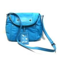 Marc By Marc JacobsTurkish Tile Blue Nylon Swing/ Cross Body Bag