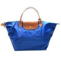 LongchampLe Place 12 Medium Shoulder Tote Bag Blue