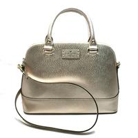 Kate SpadeSmall Rachelle Wellesley Leather Rose Gold Satchel/ Handbag