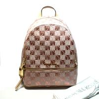 Michael KorsRhea Zip Small Back Pack Rose Gold