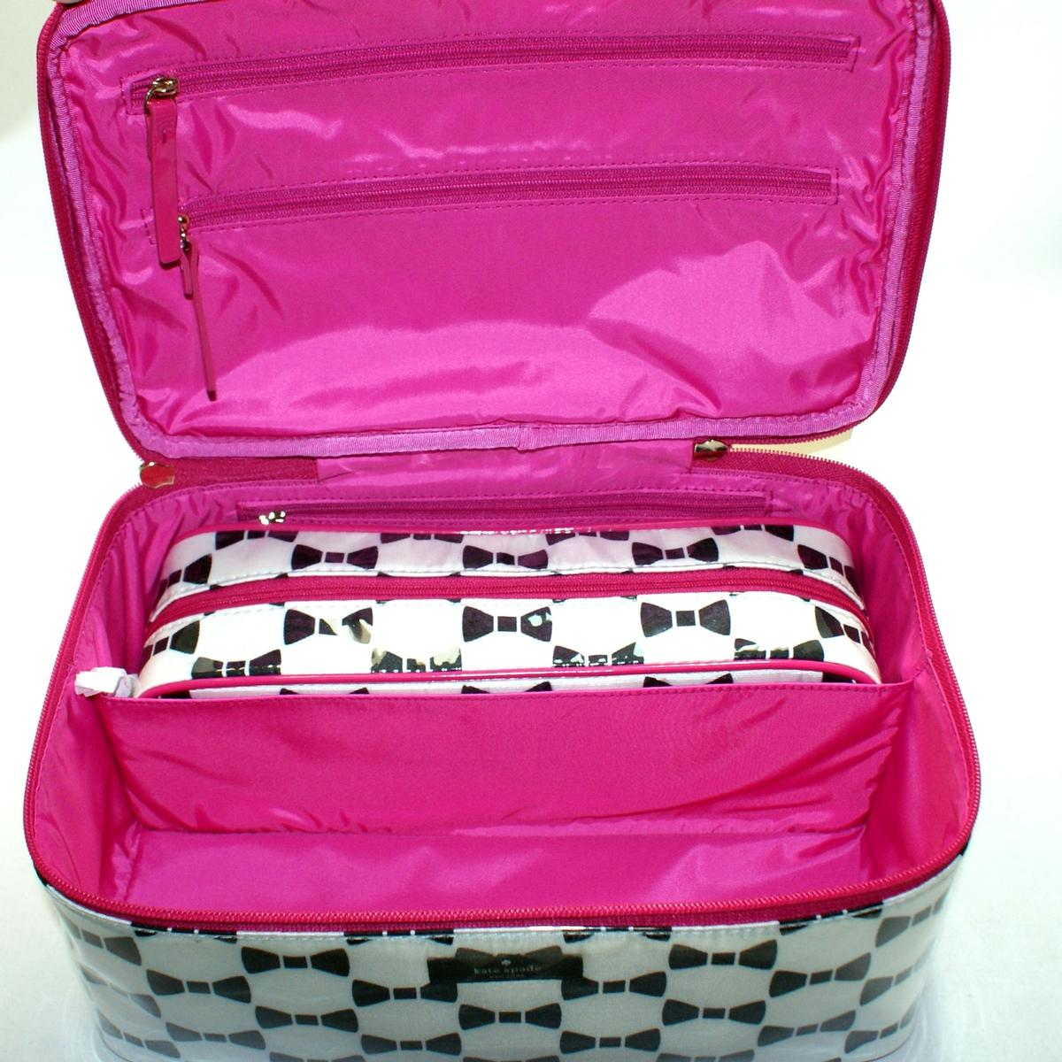 Kate Spade Large Colin Whitehall Court Cosmetic Bag