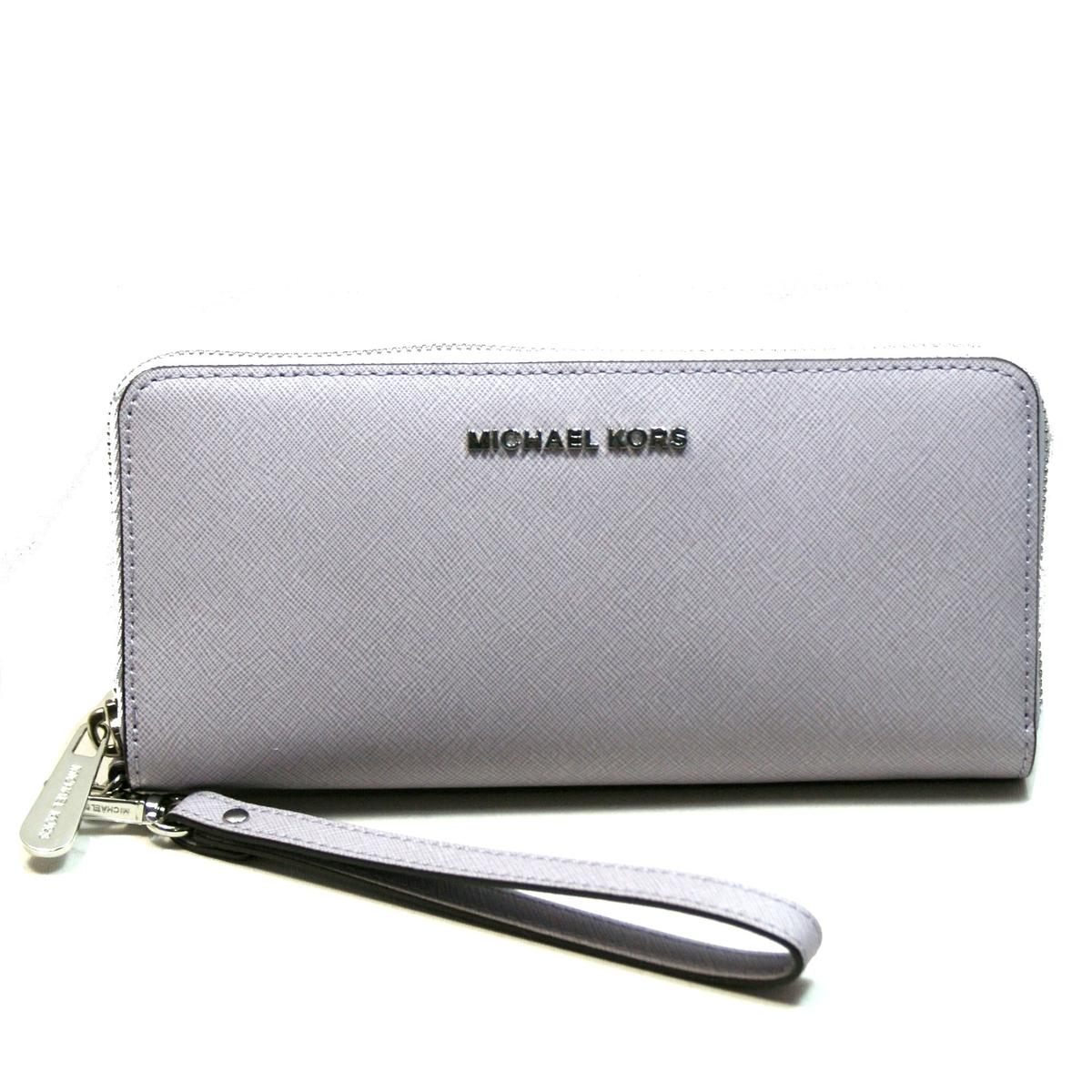 f3d6d875a758 Home · Michael Kors · Jet Set Travel Continental Leather Wallet/ Clutch/  Wristlet Lilac. CLICK THUMBNAIL TO ZOOM. Found ...