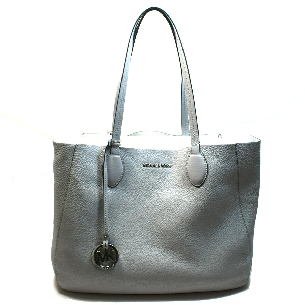 44b87dfc2844 ... Home · Michael Kors · Mae Large East West Leather Tote Dove.