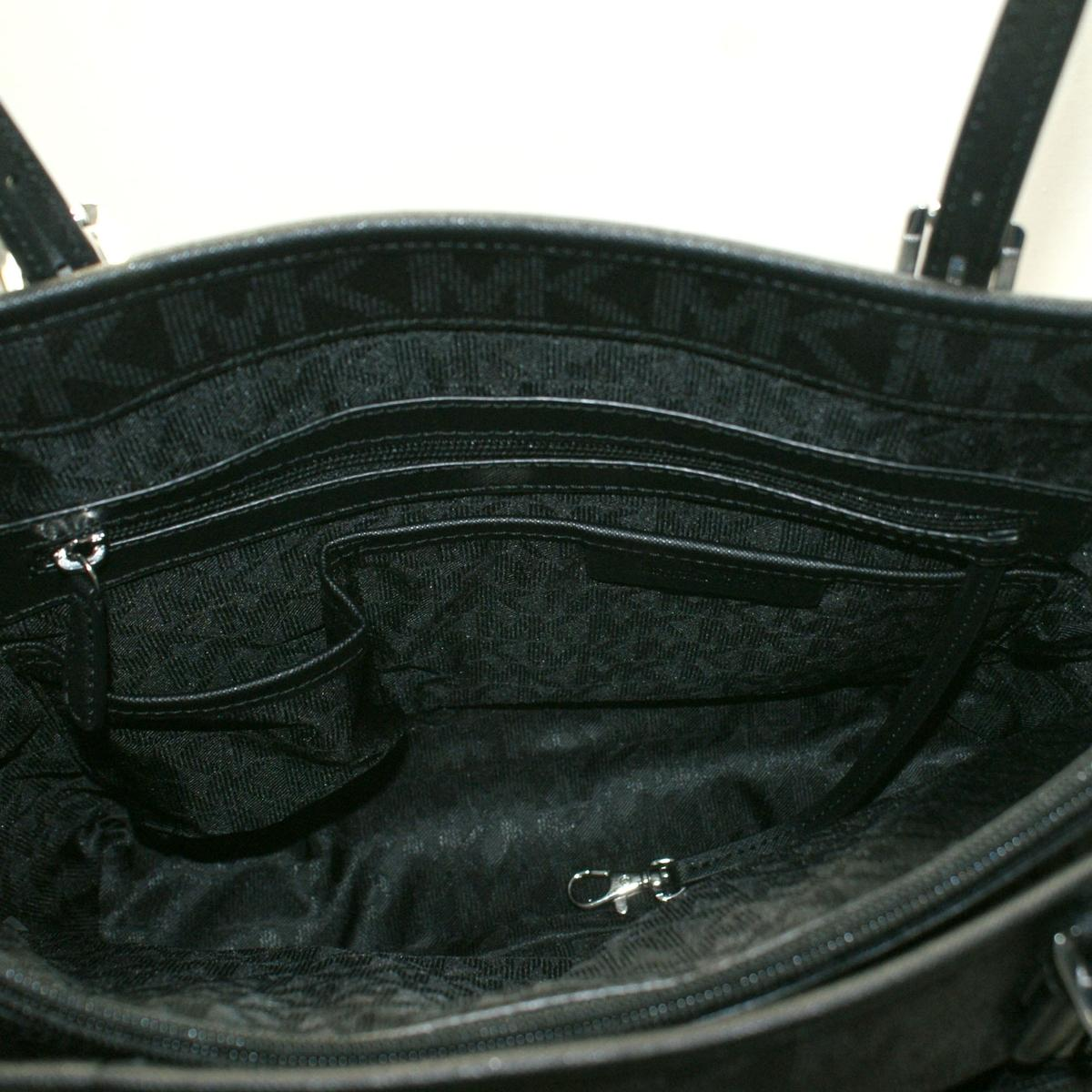 1a4b2ee68fe5 ... Jet Set Large Snap Pocket Tote Black. CLICK THUMBNAIL TO ZOOM. Found ...