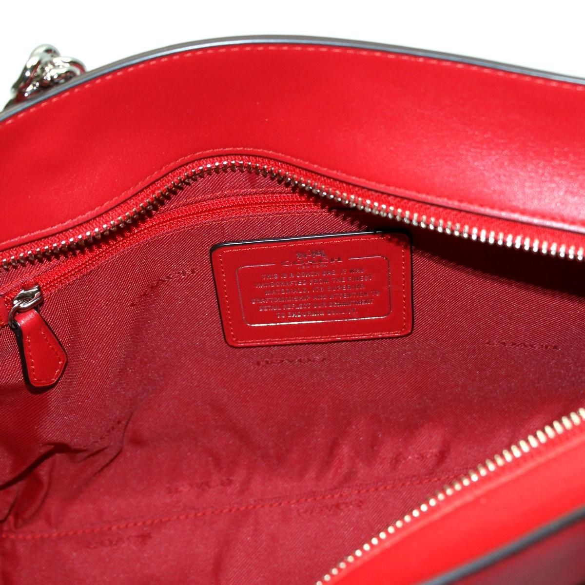 2ed396fafb Home · Coach · Signature Small Sophia Tote True Red. CLICK THUMBNAIL TO  ZOOM. Found In: Handbags
