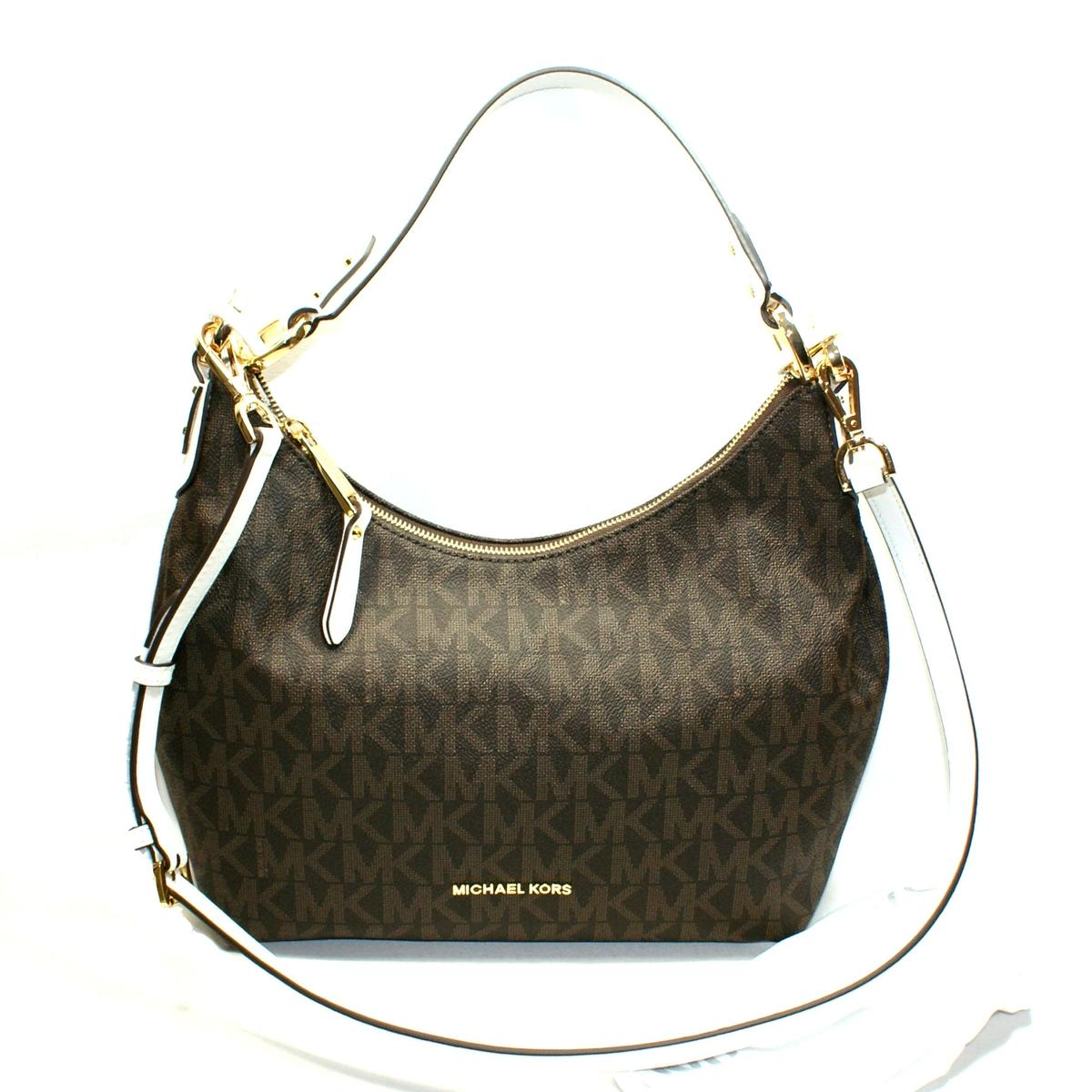ff55e9da5e6f Home · Michael Kors · Isabella Medium Convertible Shoulder Bag White. CLICK  THUMBNAIL TO ZOOM. Found ...