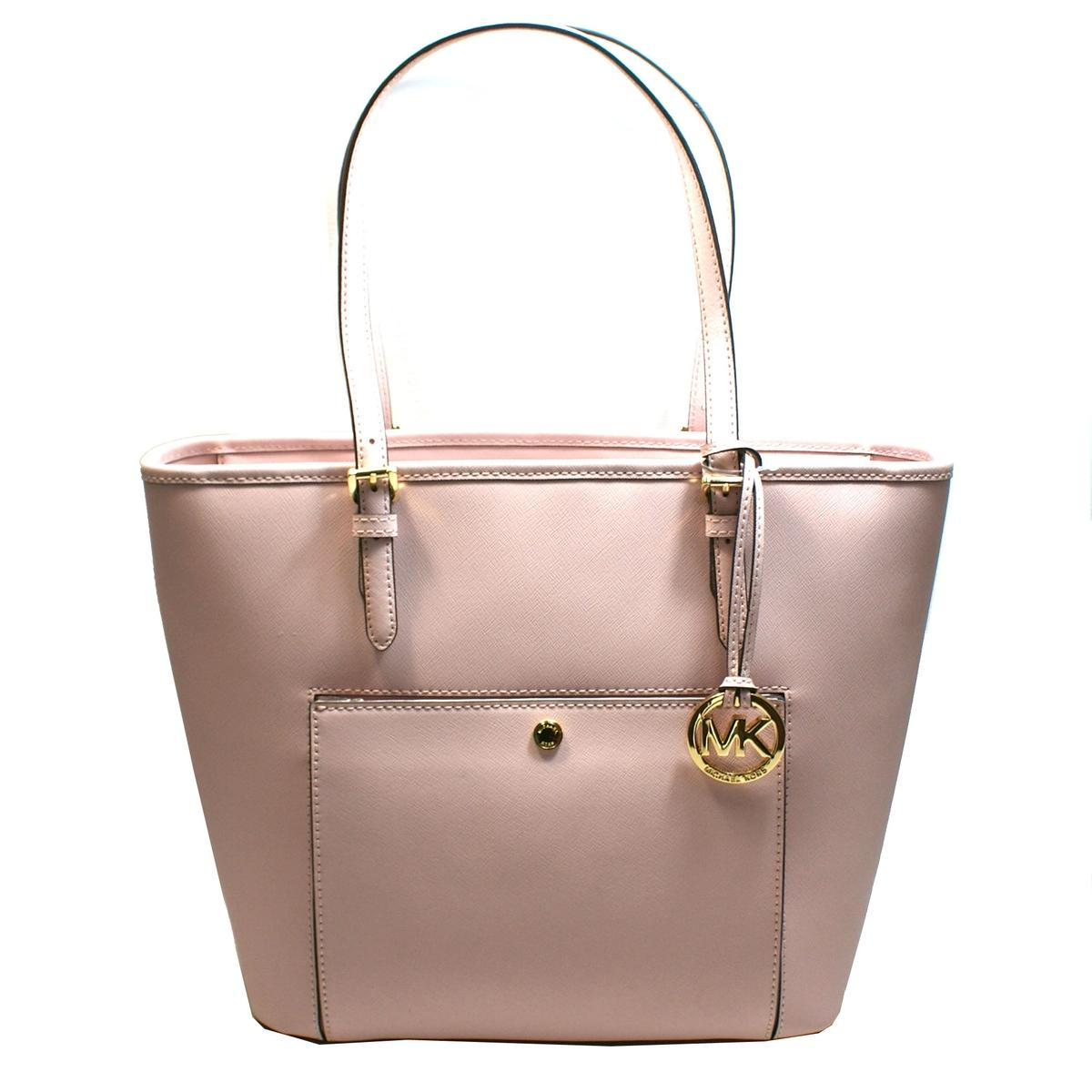 6339fa0d882b ... Jet Set Medium Snap Pocket Tote Leather Blossom Pink. CLICK THUMBNAIL  TO ZOOM. Found ...