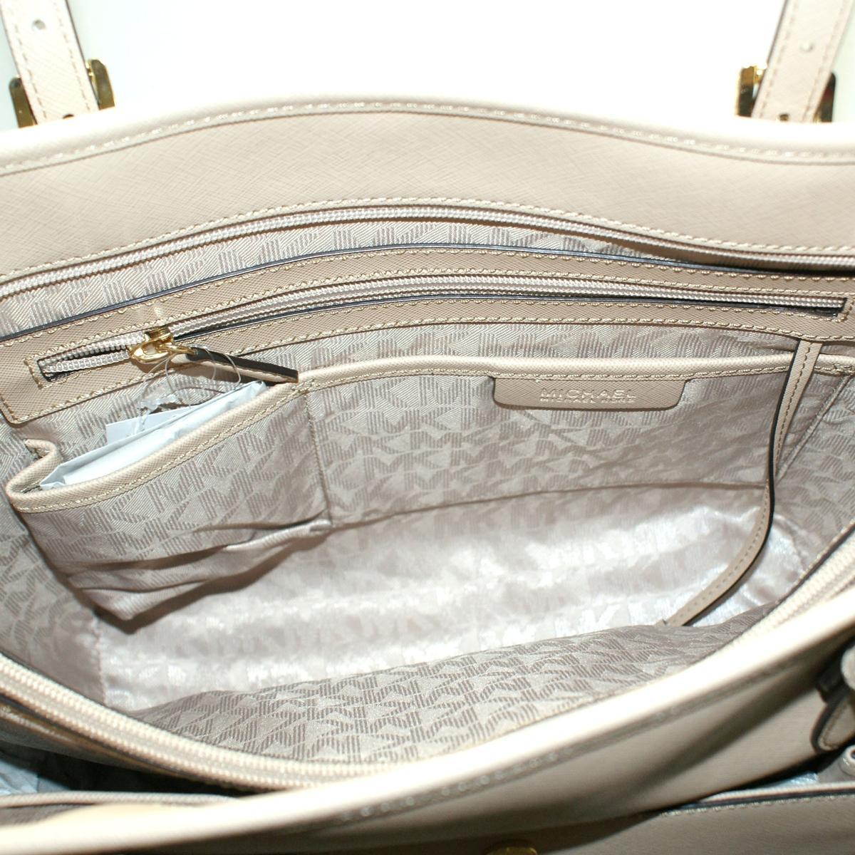 81a2909ab141 ... Jet Set Large Snap Pocket Tote Leather Bisque. CLICK THUMBNAIL TO ZOOM.  Found ...