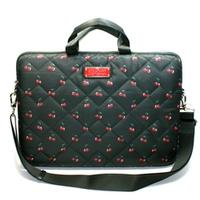 Marc By Marc JacobsCherry Print Nylon 15 Inch Laptop Bag/ Messenger Bag