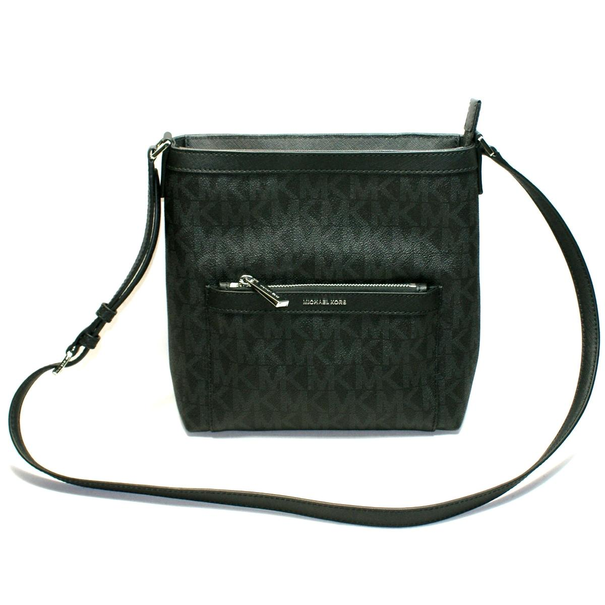 48247c2b0d78 Home · Michael Kors · Morgan Medium Messenger/ Crossbody Bag Black. CLICK  THUMBNAIL TO ZOOM. Found ...