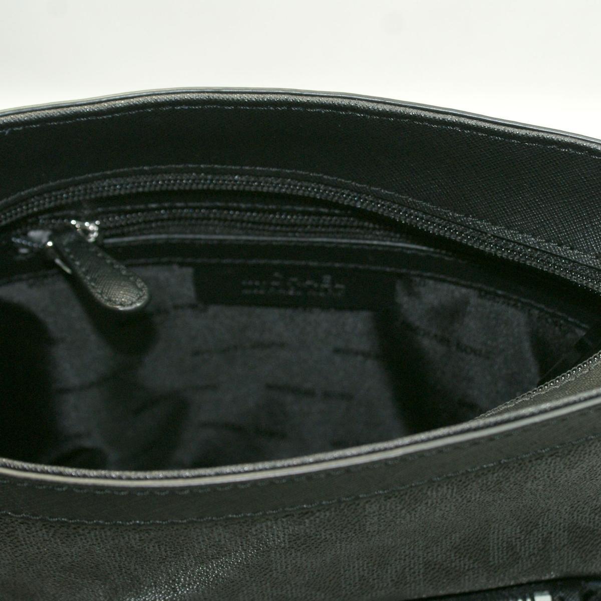 michael kors morgan medium messenger crossbody bag black