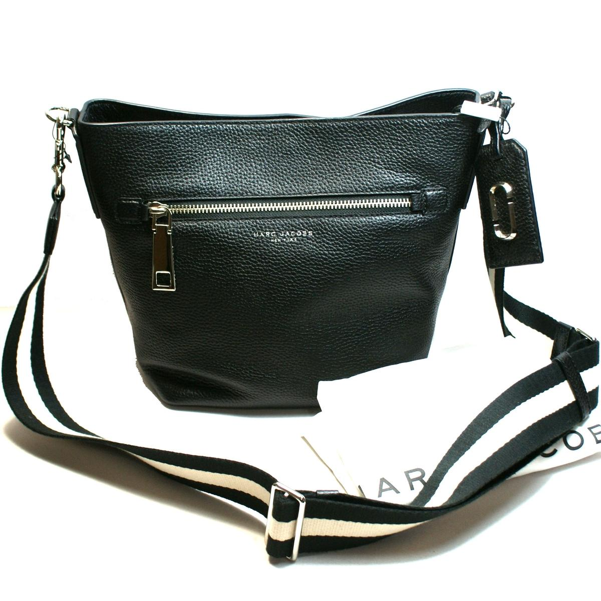 7870de9e70ae ... Marc Jacobs · Gotham Bucket Black Crossbody Bag. CLICK THUMBNAIL TO  ZOOM. Found ...