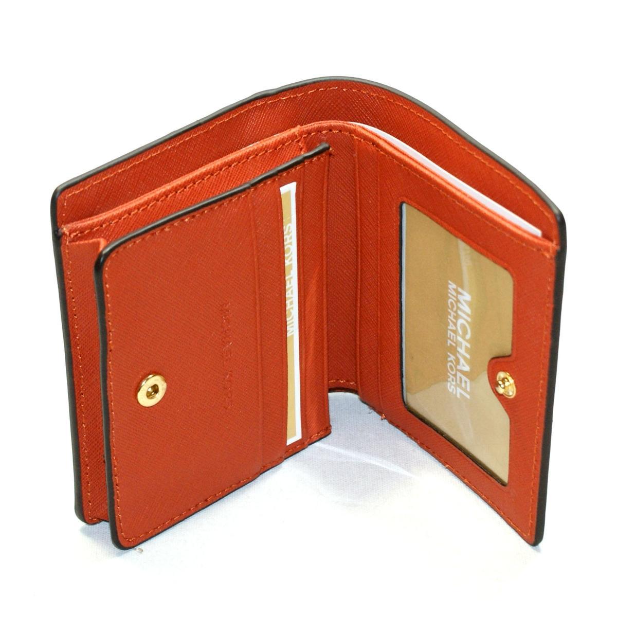 Michael Kors Jet Set Travel Carryall Card Case Leather