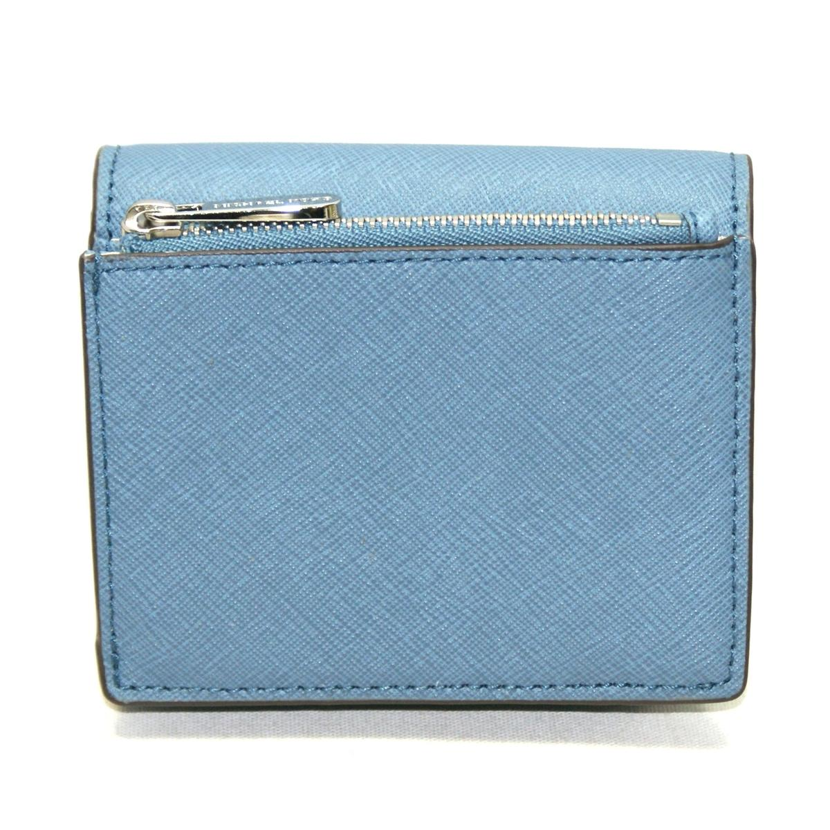 91c8f310379d Home · Michael Kors · Jet Set Travel Carryall Card Case Leather Small Wallet  Denim. CLICK THUMBNAIL TO ZOOM. Found In  Handbags