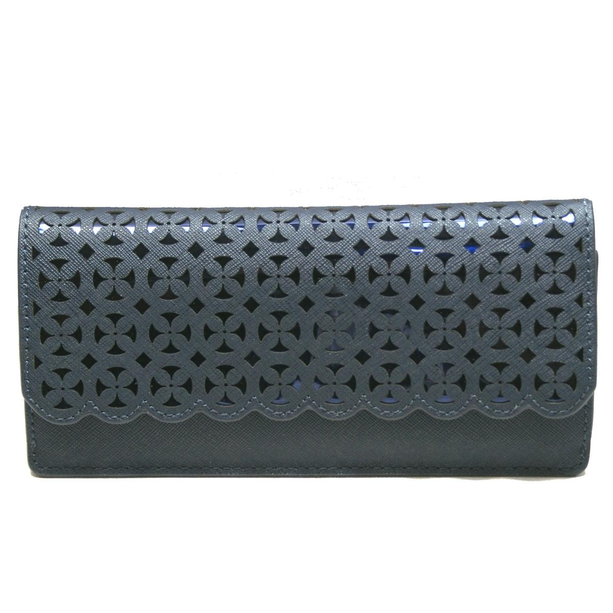 99ed473dd0a1 Home · Michael Kors · Desi Flat Leather Flap Wallet/ Clutch Admiral. CLICK  THUMBNAIL TO ZOOM. Found In: Handbags