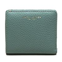 Marc By Marc JacobsDolphin Blue Leather Flap Mini Wallet/ Clutch