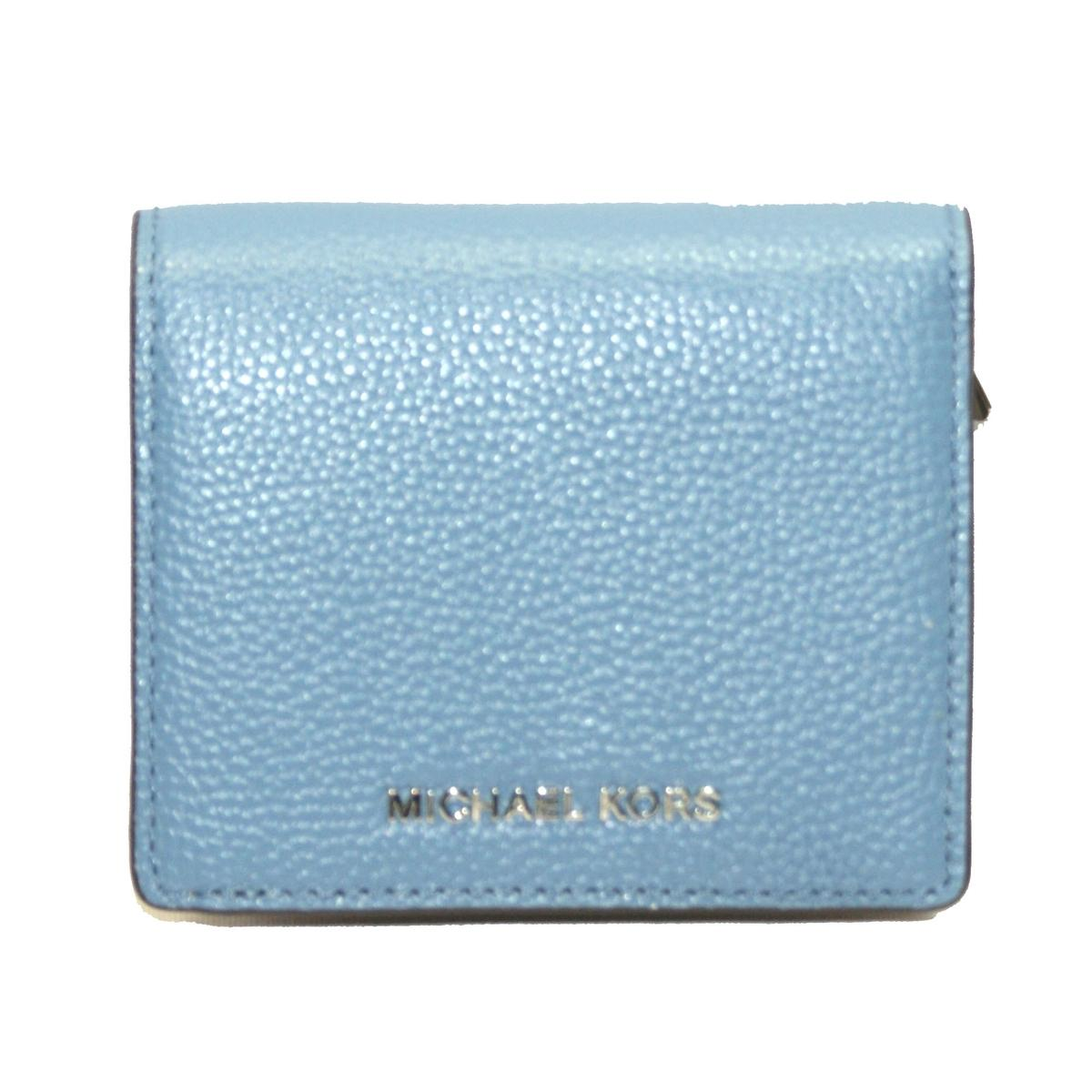 27ae51242d33 Home · Michael Kors · Mercer Leather Carryall Card Case Wallet/ Clutch  Denim. CLICK THUMBNAIL TO ZOOM. Found ...