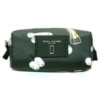 Marc By Marc JacobsBlack Multi Nylon Cosmetic Bag/ Pouch Lipstick