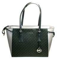 Michael KorsVoyager Medium Tote/ Shoulder Bag Black/ Grey