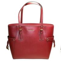 Michael KorsVoyager East West Tote/ Shoulder Bag Maroon