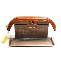 Michael KorsLarge Travel Pouch/ Clutch Chestnut