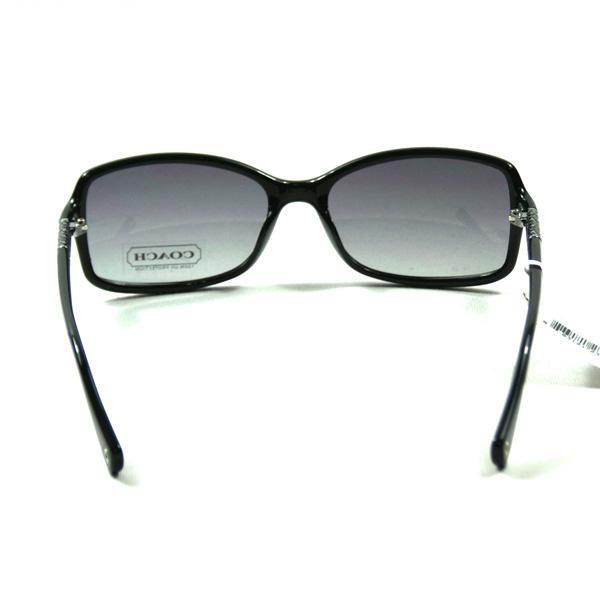 Coach Marchon Black Sunglasses