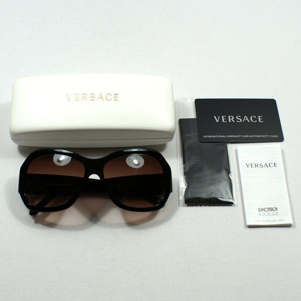 ec6bb7cb966 ... Versace Luxottica Black Sunglasses. CLICK THUMBNAIL TO ZOOM. Found ...